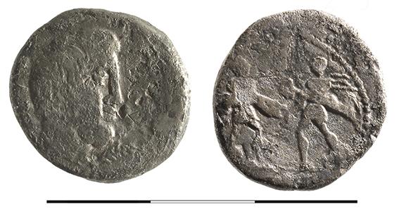 Numismatique Denier de L. Titurius Sabinus, 89 av. J.-C. Rome