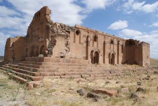 Vue du site archéologique d'Ereruyk (Arménie) Vue du site archéologique d'Ereruyk (Arménie)