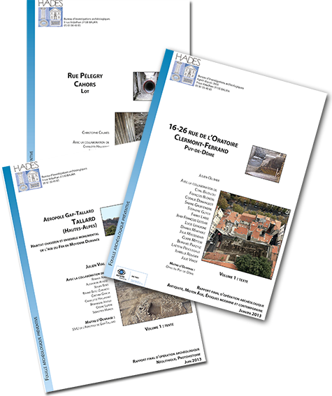 Les RFO (Rapports Finaux d'Opération) sont accessibles