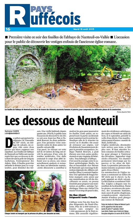Charente Libre 18-08-2015