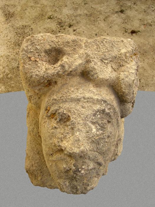 Lapidaire, tête