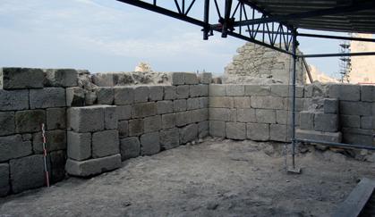Tour et contreforts