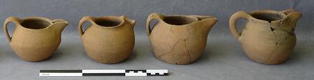 Bruguières (31) Céramiques médiévales - 2005