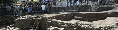 Saint-Paulien (43) Journées nationales de l'Archéologie - 2011