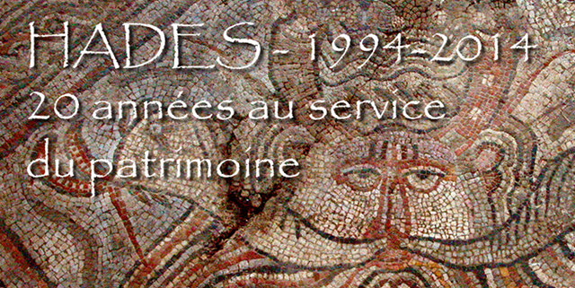 """fondhaut5  Mosaïque """"du dieu Océan"""" - Maubourguet (Hadès - 2005)"""