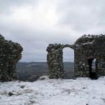Ruines de la courtine orientale Ruines de la courtine orientale