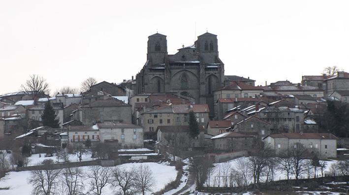 1 Vue générale de l'abbaye