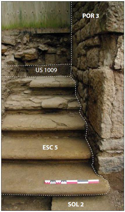 Fig. 3 - Vue de l'escalier