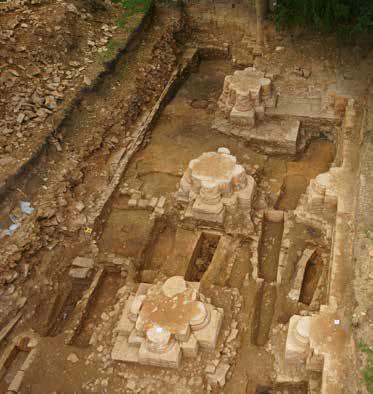 Fig. 3 – Emprise des fouilles de 2015
