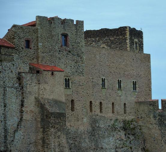 Fig. 3 - Détail des élévations du château royal de Collioure