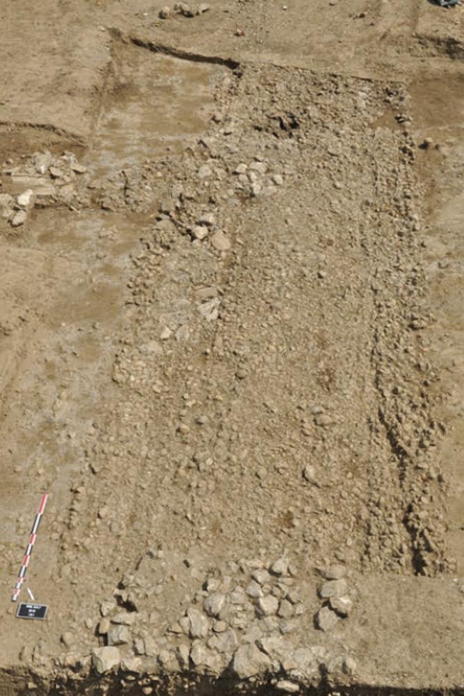 Fig. 3 - La voie antique