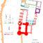 Fig. 5 - Plan général phasé du Palais de La Berbie