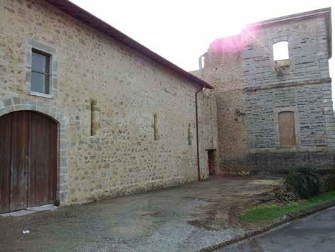 Fig. 1 - Vue du bâtiment de la Grange aux Dîmes
