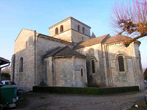 Fig. 1 - Chevet de l'église