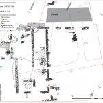 Fig. 1 - Plan des vestiges antiques