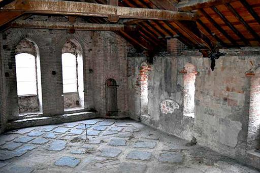 Fig. 2 - Quatrième étage de la « chapelle Notre-Dame »