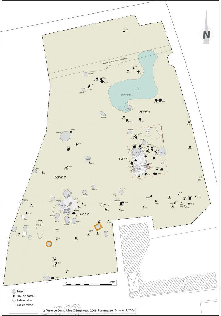 Fig. 3 - Plan général du site