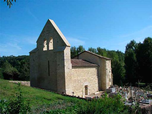 Fig. 1 - Vue générale de l'église de Saint-Barthélémy de Gueyze