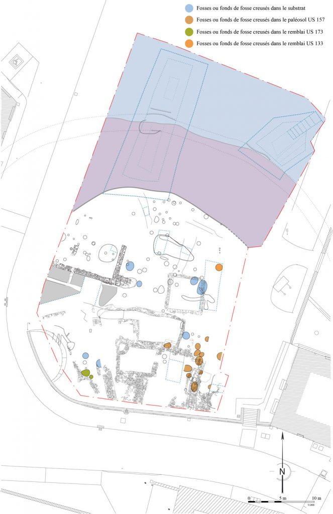 Fig. 1 - Plan générale du site