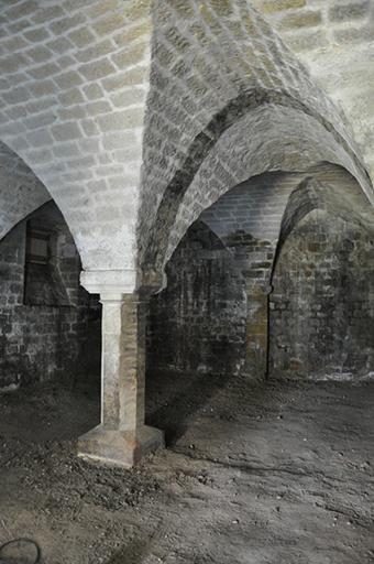 Fig. 1 - La cave de la maison Messidan