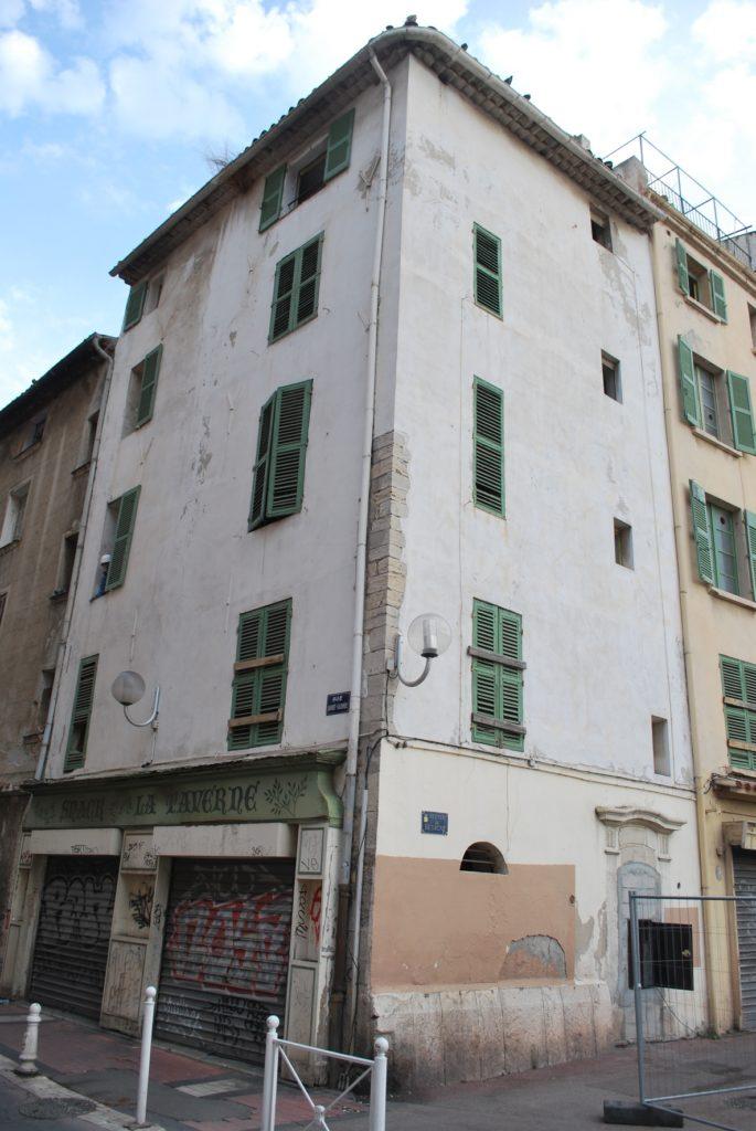 Angle sud-est du bâtiment, 13 avenue de Besagne, depuis la rue Laindet de Lalonde
