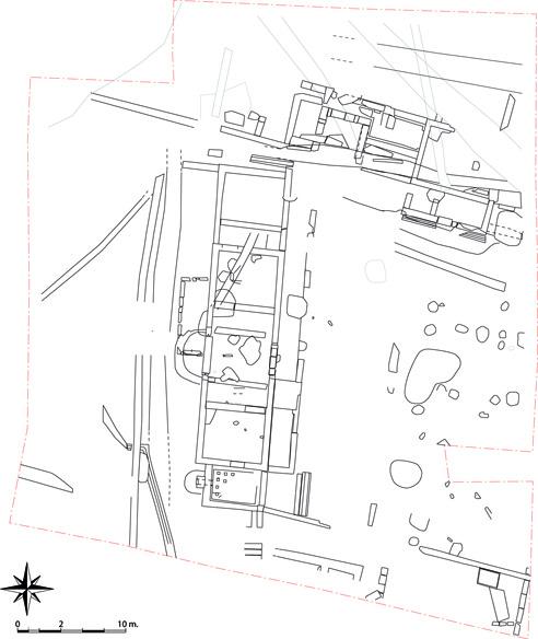 Fig. 1 - Plan général du site