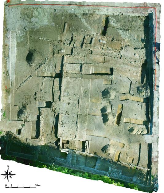 Fig. 4 - Vue aérienne orthophotographique