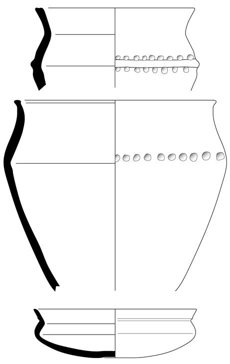 Fig. 3 - Céramiques du Bronze final II