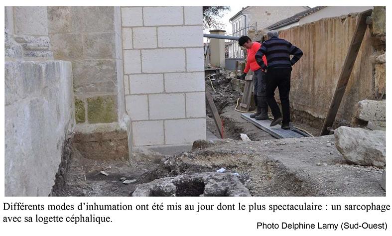 Fouilles à Chapagne-Vigny