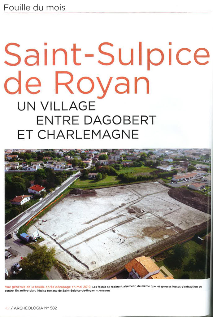 Article Archéologia Puirs St Sulpice de Royan-1